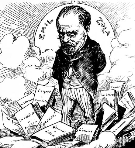 Caricature de Boscovitz. Nebelspalter, Zürich, 1902