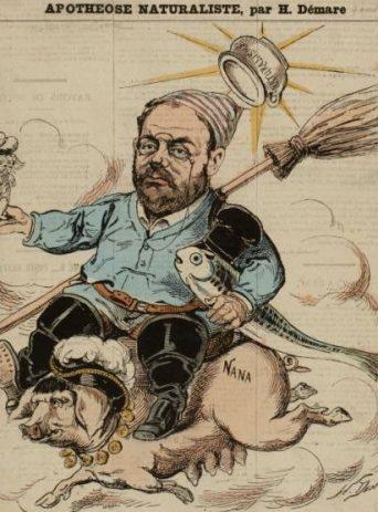 caricature de Demare 4 avril 1880